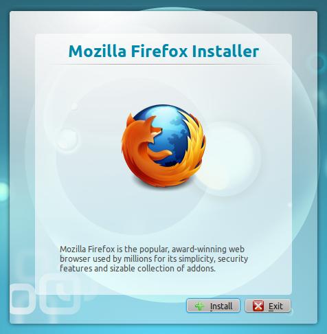 Firefox installer
