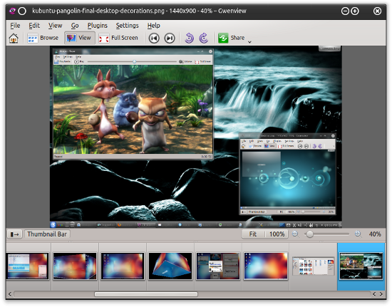 GwenView image viewer