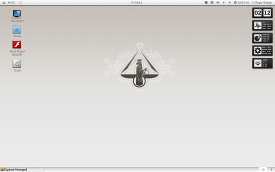 AriOS 4 with Gnome 3