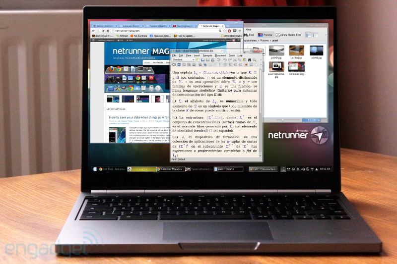 Linux and the Chromebook Pixel | OCS-Mag