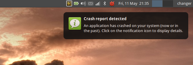 Application crash 1