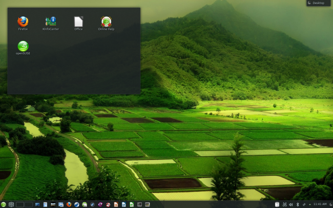 openSUSE 12.3