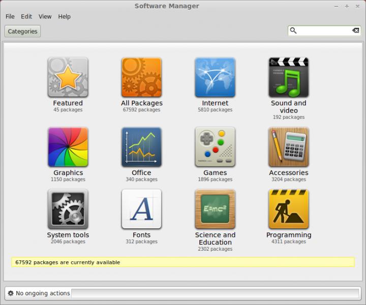 Mint Software Center