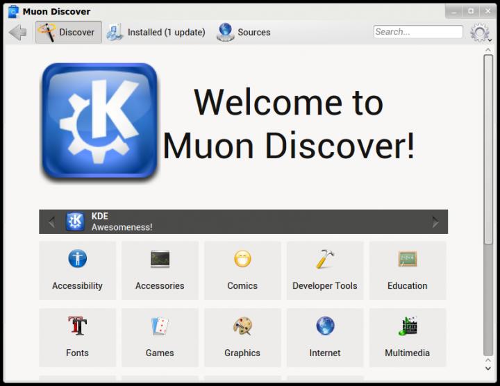 Muon Discover