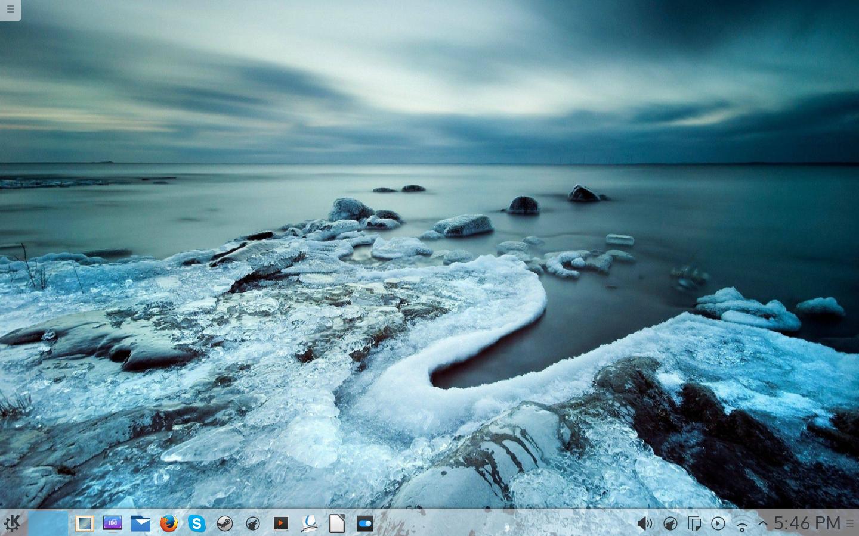 Kubuntu with Plasma 5